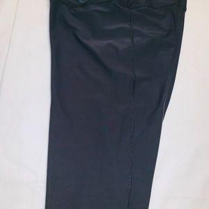 Women's knee length wide leg Nike pants
